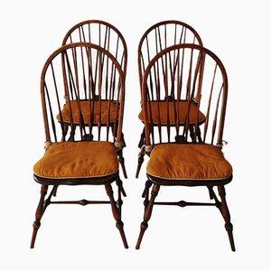 Vintage Windsor Chairs, Set of 4