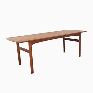 Table Basse en Teck par Arne Halvorsen pour Rasmus Solberg, 1960s