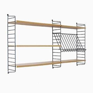 Mueble modular de pared de Kajsa & Nils 'Nisse' Strinning para String, años 60