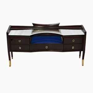 Vintage French Rosewood Dressing Table