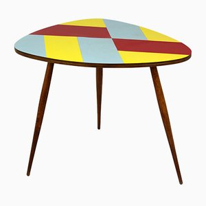 Czech Multicolored Formica Coffee Table, 1960s