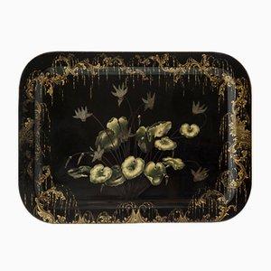 Großes französisches Napoleon III Tablett