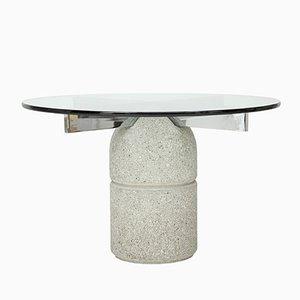 Tavolo da pranzo Paracarro di Giovanni Offredi per Saporiti, anni '70
