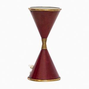 Lampada da tavolo Clessidra vintage di Angelo Lelli per Arredoluce, anni '60