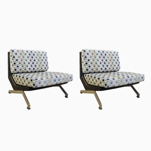 Italian Lounge Chairs by Giulio Moscatelli for Formanova, 1960s, Set of 2