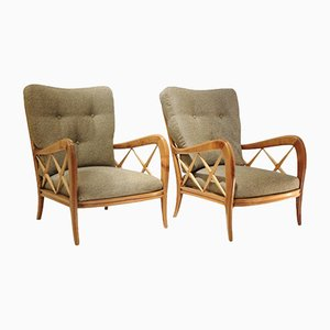 Armchairs by Ulrich Guglielmo, 1960s, Set of 2