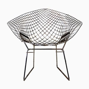 Mid-Century Diamond Chair by Harry Bertoia for Knoll International