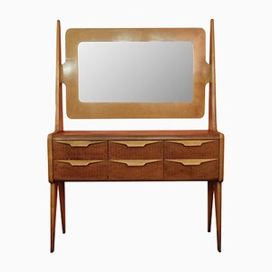 Italian Dressing Table with Mirror, 1960s