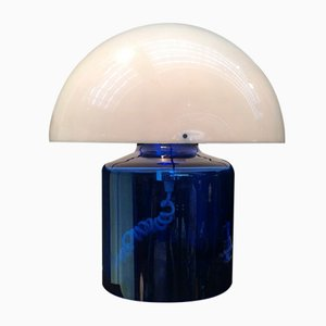 French Crystal & Plastic Table Lamp by Jean Daum, 1970s