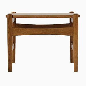 Vintage AT 50 Oak Side Table by Hans J. Wegner for Andreas Tuck