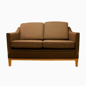 Sofá de dos plazas gris, años 70