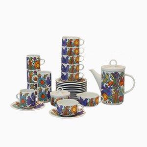 Acapulco Series Kaffeeservice von Christine Reuter für Villeroy & Boch, 1960er
