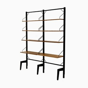 Teak Royal System Free Standing Wall Unit by Poul Cadovius for Cado, 1960s