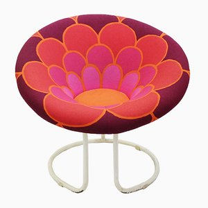 Vintage Circular Sunny Lounge Chair