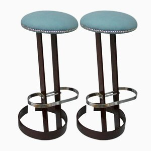 Vintage Spanish Stools, 1960s, Set of 2
