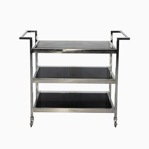 3-Tiered Bauhaus Serving Table, 1930s