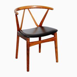 Mid-Century Rosewood Armchair by Henning Kjærnulf for Bruno Hansen