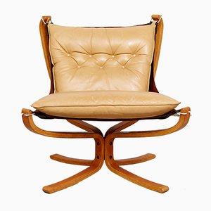Vintage Falcon Chair von Sigurd Ressell für Vatne Møbler
