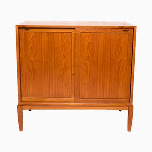 Danish Teak Highboard by H.W. Klein for Bramin Møbler, 1960s