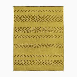 Alfombra Oma GET de tejido plano de lana de Kristiina Lassus