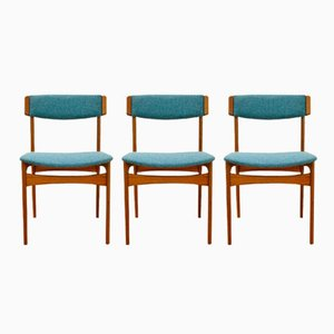 Dänische Vintage Esszimmerstühle von Thorsø Stolefabrik, 1960er, 3er Set