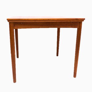 Small Teak Dining Table by Poul Hundevad, 1960s