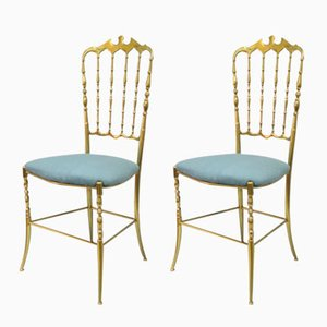 Vintage Italian Chiavari Chairs, Set of 2