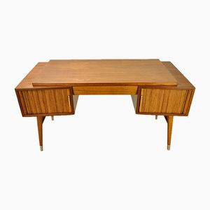 Vintage British Teak Desk from Sligh, 1950s