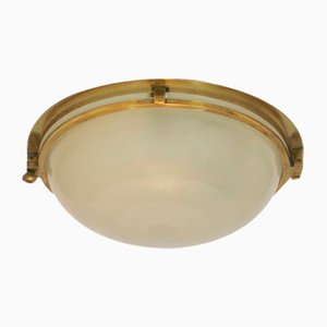 Art Deco Ceiling Lamp from Holophane