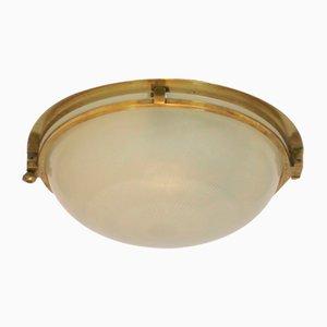 Lampada da soffitto Art Deco di Holophane