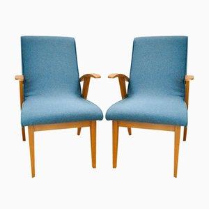 Poltrone nr. 300-123 di Marian Puchała per Bystrzyckie Furniture Factory, anni '60, set di 2