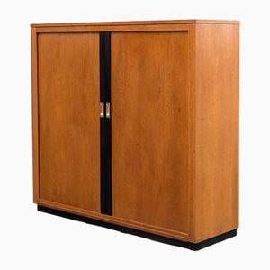 Industrial Oak Cabinet, 1950s
