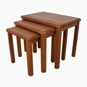 Danish Teak Nesting Tables from Salling Stolefabrik, 1960s
