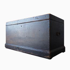 Caja industrial vintage de madera
