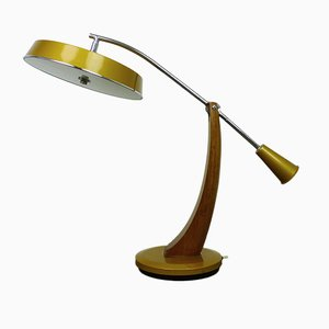 El Presidente Pendulo Desk Lamp from Fase, 1960s