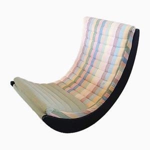 Sedia a dondolo Relaxer di Verner Panton per Rosentahl, 1974