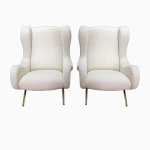 Vintage Senior Sessel von Marco Zanuso für Arflex, 2er Set