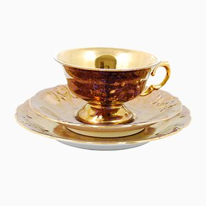 Gilt Breakfast Set from Wawel, 1970s
