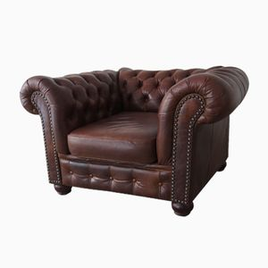 Chesterfield Ledersessel 1970er