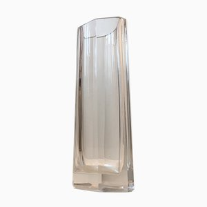 Vase Octogonal en Cristal à Facettes, 1960s