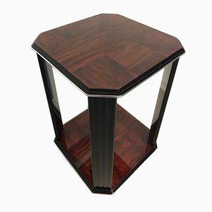 """Table d""""Appoint Art Deco en Acajou, 1920s"""
