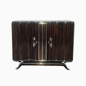 Art Deco Commode with Serpentine Doors, 1920s