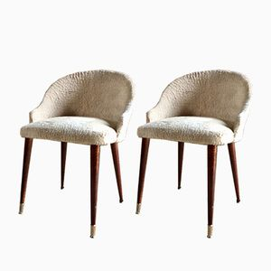 Mid-Century Italian Cocktail Chairs, Set of 2
