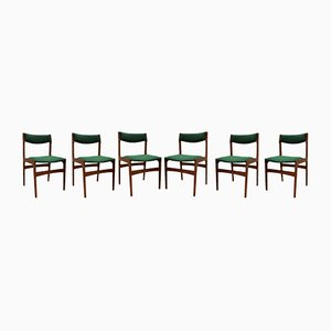 Chaises de Salle à Manger Mid-Century par Erik Buch pour Oddense Maskinsnedkeri, Set de 6