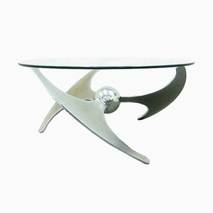 Propellor Coffee Table by L. Campanini for Cama, 1960s