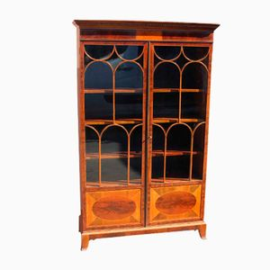 Mahogany 2 Door Bookcase From Maples U0026 Co., 1910s