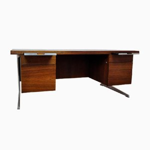 Executive Desk in Rosewood by Marius Byrialsen for Nipu, 1950s