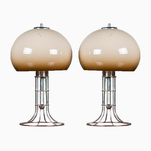 Space Age Table Lamps from Herda, 1970s, Set of 2