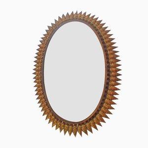 Espejo español dorado, años 60