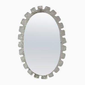 Specchio vintage illuminato di Egon Hillebrand per Hillebrand Lighting